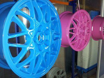 окраска дисков порошковой краской
