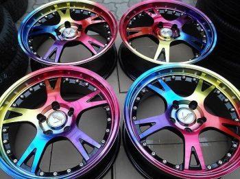покраска колесных дисков порошковой краской
