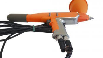 трибостатический пистолет для порошковой покраски