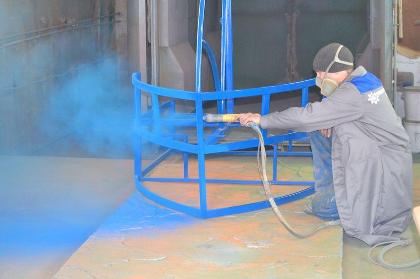Полимерное покраска своими руками